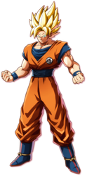 Goku Ssj #FighterZ by BrunoArtes08