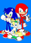 The Three Sons of Team Sonic