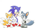 Sonic Tails and Rita
