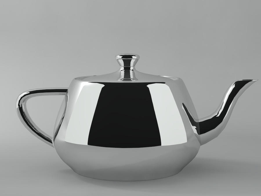 A Chrome Teapot
