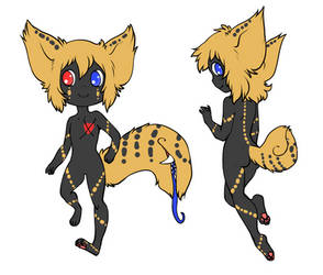Kitsune Colours Tailmouth Adopt -Closed!- by grotesque-adoptions