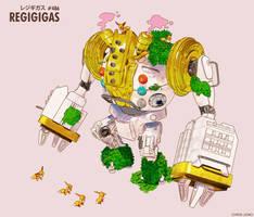 Regigigas Mech 2 by ChristopherJono
