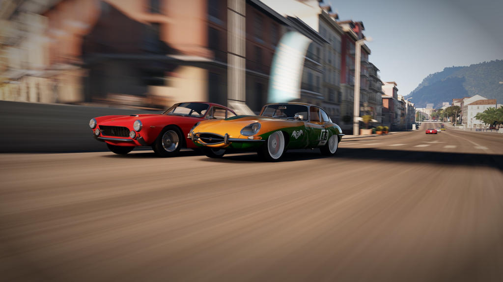 E-type racing by Tom-nr82