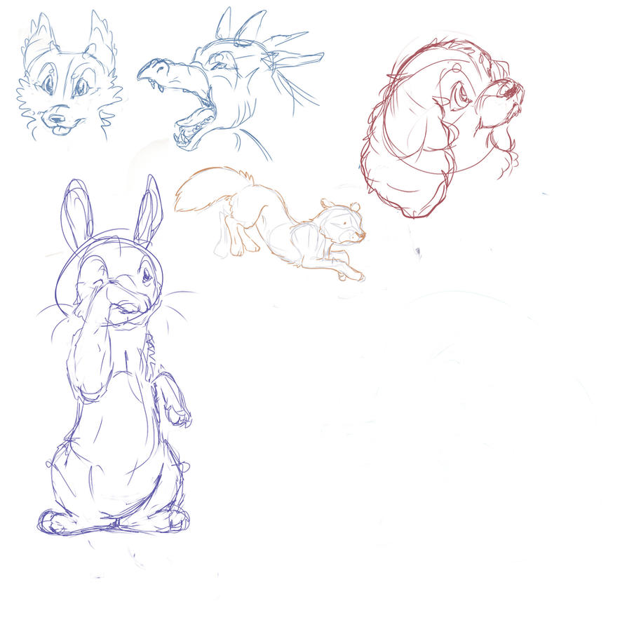Sketches by PaintedHabitat