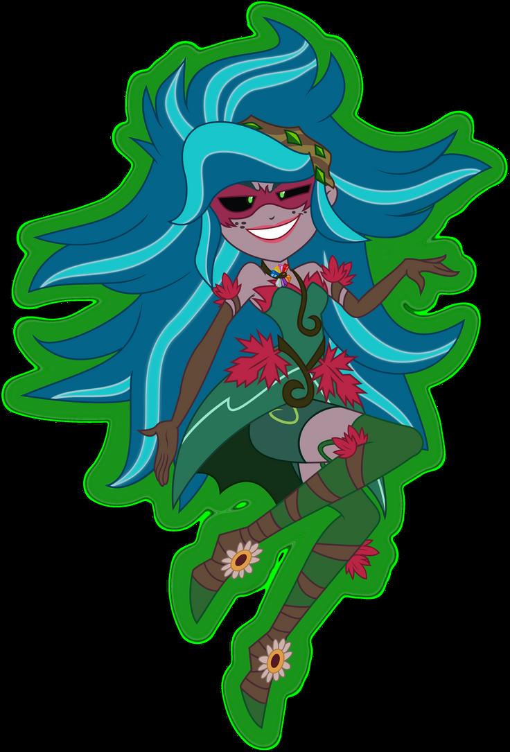 MLP Legend of Everfree - Gaia Everfree (Gloriosa) by ZeldaronDL