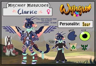 Mischief Marauder: Clarice