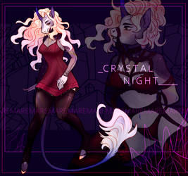 AUCTION [OPEN] CRYSTAL NIGHT