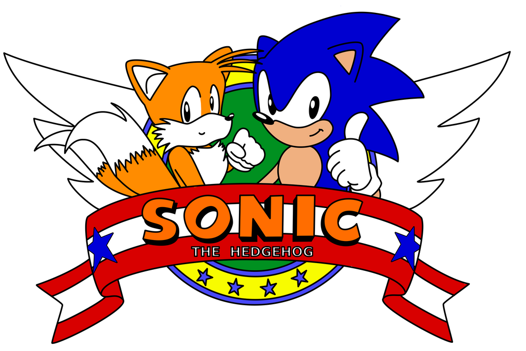 Sonic The Hedgehog 2 Title Logo By A Scream On Deviantart