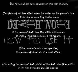 Death Note: How to use it - I