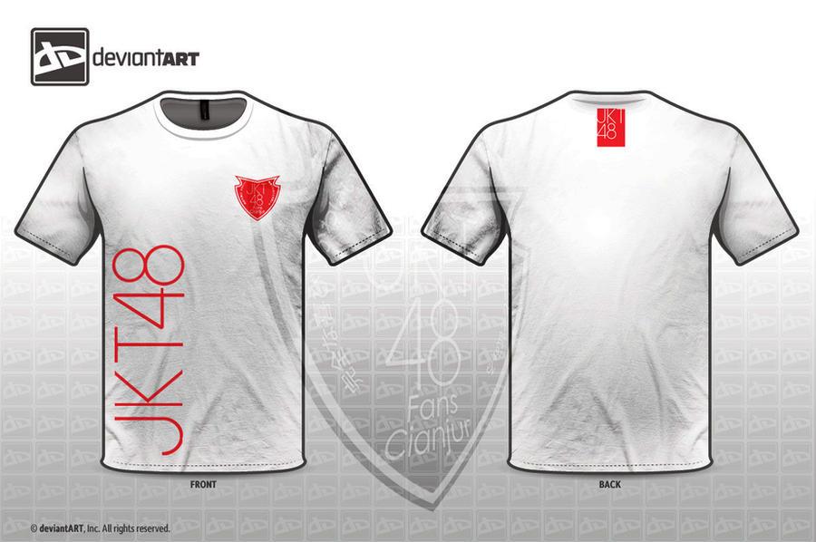 Sample t shirt jkt48 fans by fathulartdesign on deviantart for T shirt sample design