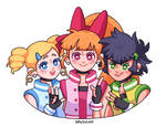 Powerpuff Girls Z by setsulko