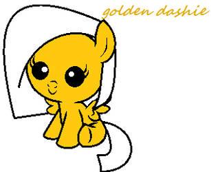 Golden Dashie by colitas2