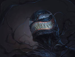 venom fan art by makson art by markonos