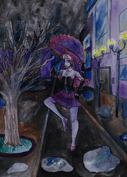 Commission- City Rain