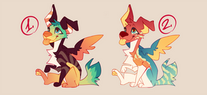 [CLOSED] tropic guardian pups auction by pii-J