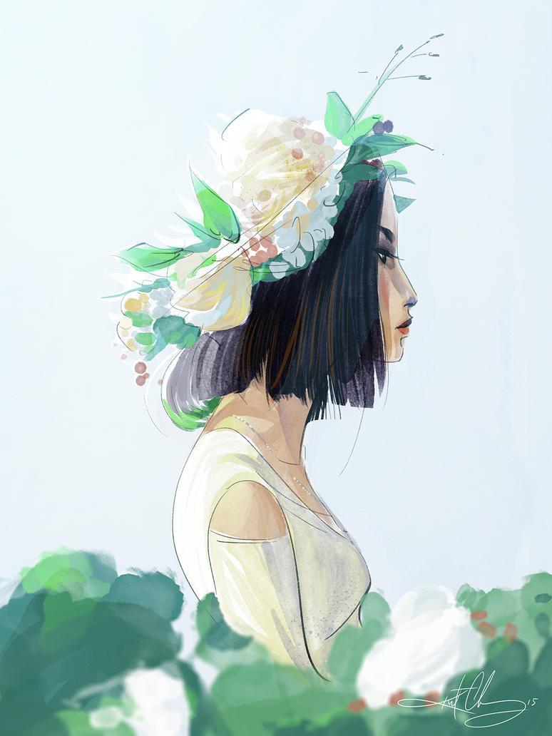 Flower Crown by scri3e