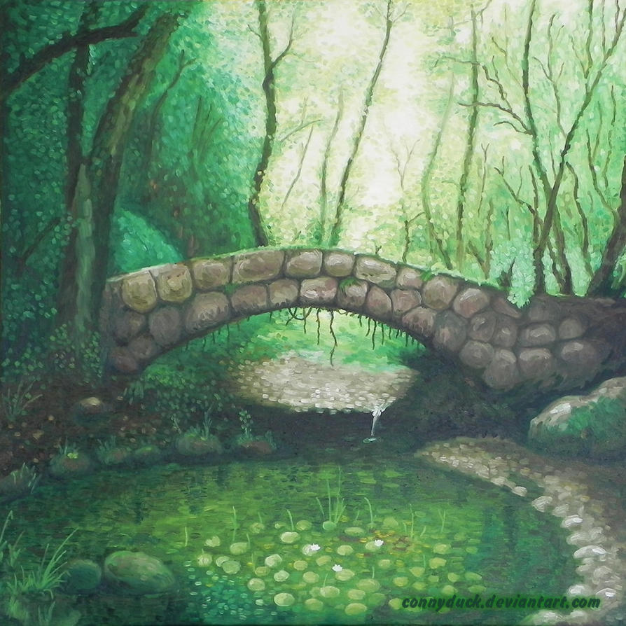 The Bridge In The Magic Forest by ConnyDuck