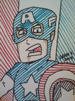 Cap'n America by GreenUnicornArt