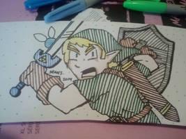 Link by GreenUnicornArt