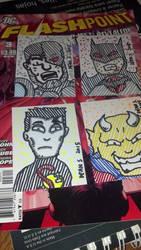 Flashpoint Artist Cards by GreenUnicornArt