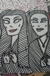 Morticia Addams by GreenUnicornArt