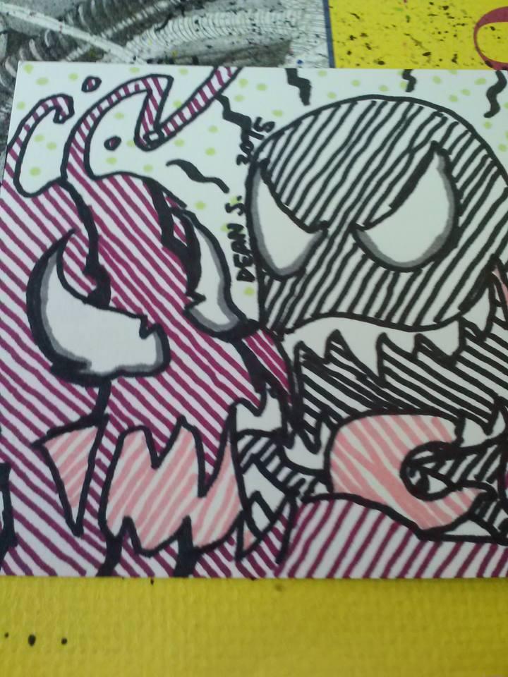 Carnage and Venom by GreenUnicornArt