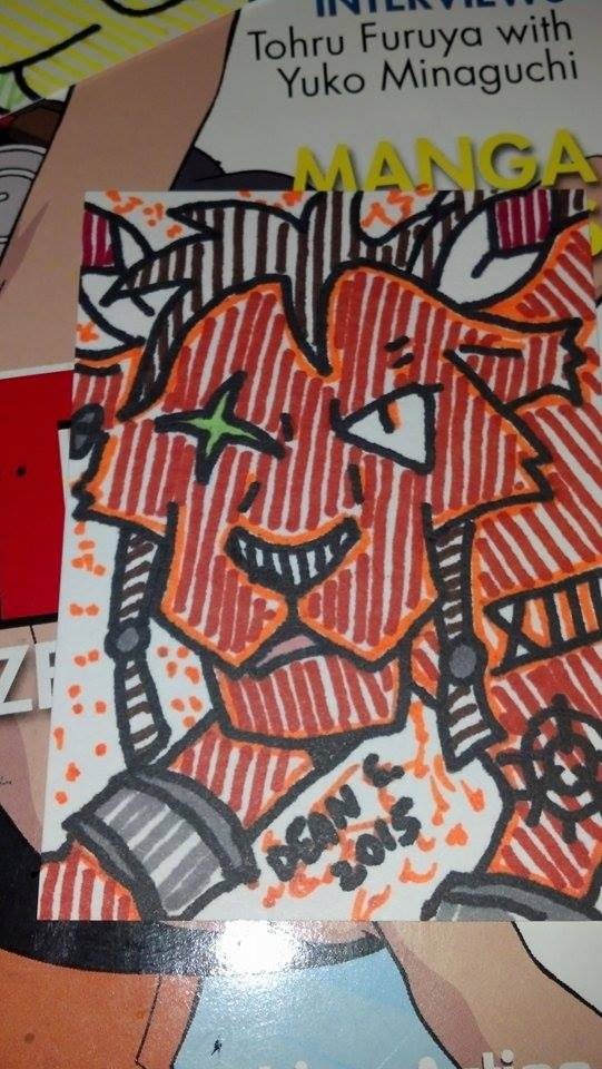 Red XIII for FF7 by GreenUnicornArt