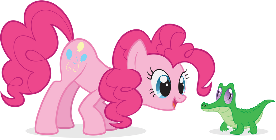 Pinkie Pie and Gummy by juniberries
