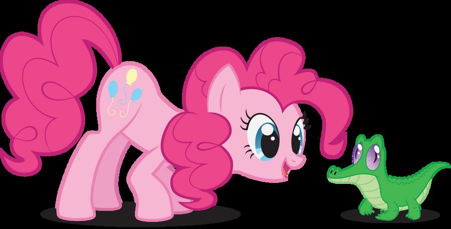 Fan Club De La Súper Súper Súper Alegre Y Hermosa Pinkie Pie :DDD Pinkie_pie_and_gummy_by_wuzzyfuzzybunny-d4yrvdl