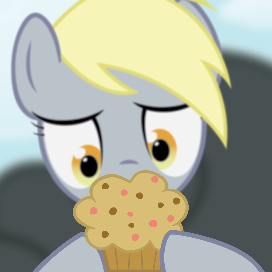 Derpy Muffin of Desire by juniberries