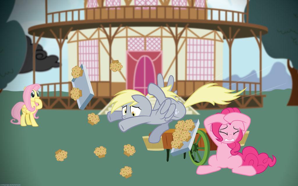 Derpy Muffin Crash!