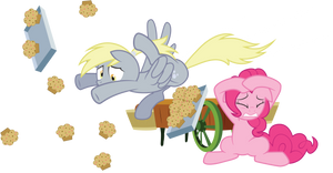 Derpy Muffin Crash! (No BG Version)