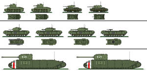 Alt. WW2 - British Tanks