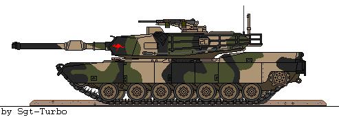 Australian M1A1 Abrams by Sgt-Turbo