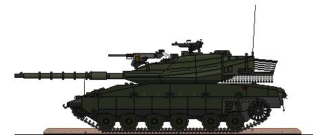 Bongrovian Merkava Mk 4M-BG by Sgt-Turbo