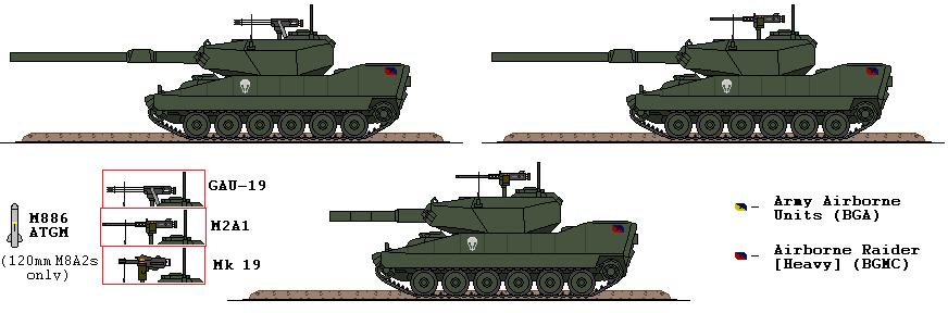BGMC M8A2 Thunderfire by Sgt-Turbo