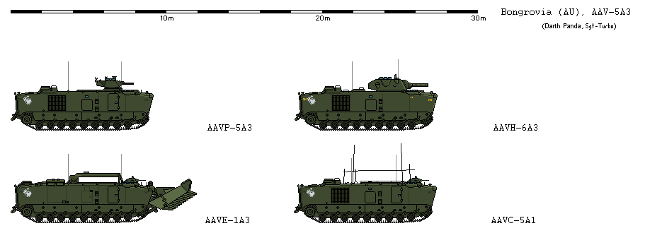 BGMC LVT-5 variants by Sgt-Turbo