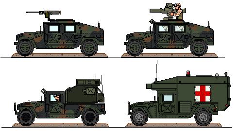BGMC Humvee variants by Sgt-Turbo
