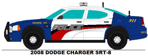 Bongrovia City PD - 2008 Dodge Charger SRT-8 by Sgt-Turbo