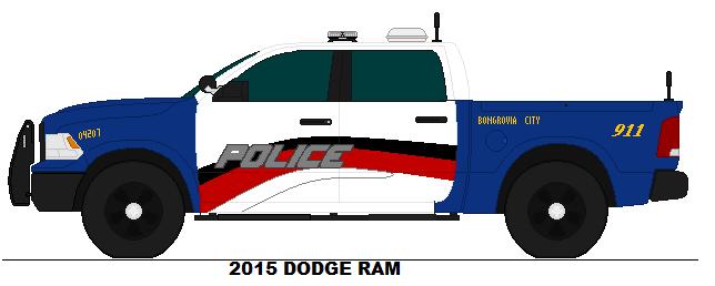 Bongrovia City PD - 2015 Dodge Ram 1500 SSP by Sgt-Turbo