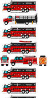 Bongrovia City FD - Rescues Fleet