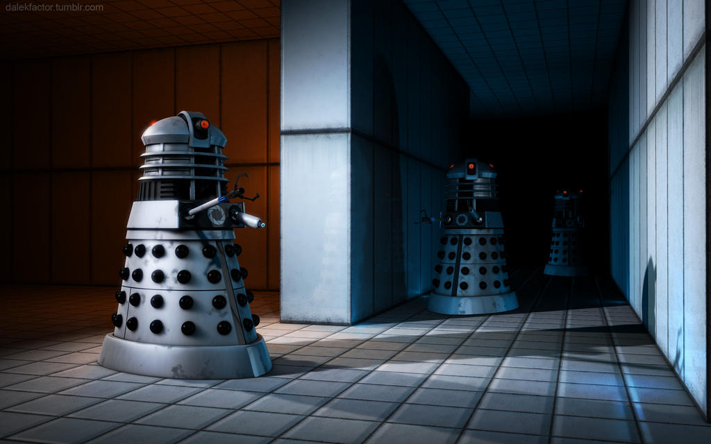 Aperture Daleks