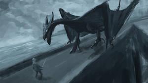 Dragon on the Causeway