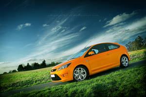_ orange focus st II by adeadrockstar