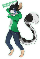 [C: Flat fullbody] for Notearl by Chikunia