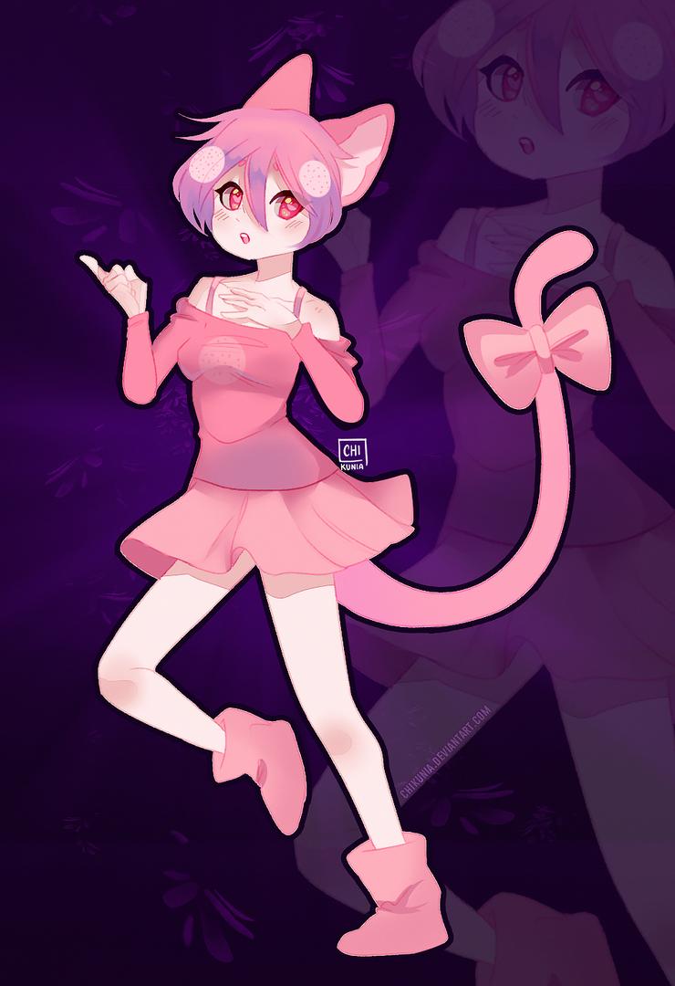 [C: Fullbody] for Cookie_Kitten by Chikunia