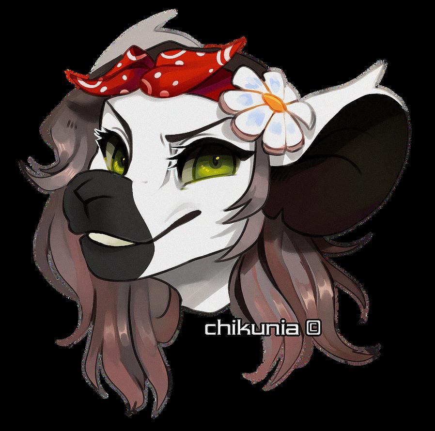 [C: Headshot] for Cosmicqt by Chikunia
