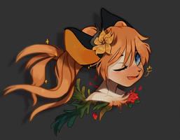 [C: Headshot] Moonlight Flowers