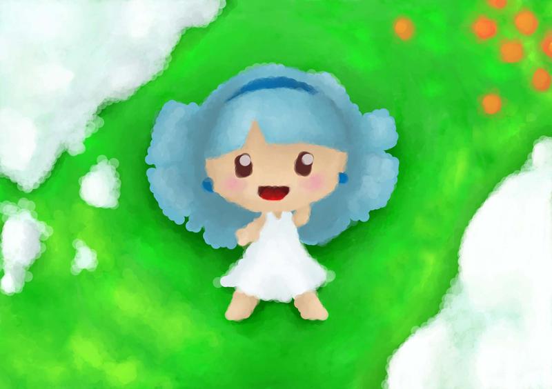 Sophia  Cloud girl by Shinaig