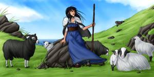 Prince Azzam ~ Enora - Shepherdess by Eyoha